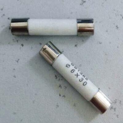 2pcs,380V 6A 6 AMP Heavy Duty Ceramic Fuses Fuse 10x38