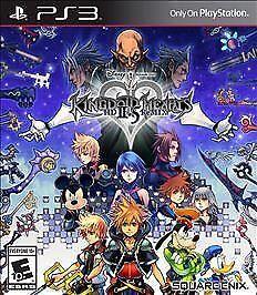 FREE SHIPPING   Kingdom Hearts HD 2.5 ReMIX (PS3 PlayStation 3, 2014) EUC