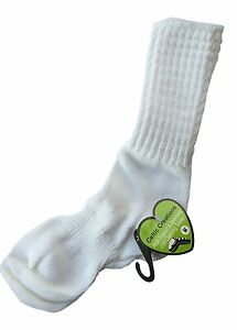 IRISH DANCE SOCKS ANKLE Length Arch Support Seamless Poodle AGE 6-9 shoe12½-3½