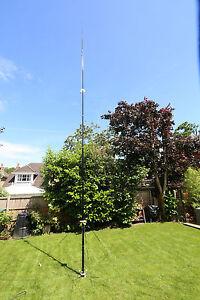 PREMIUM-DX-Commander-Amateur-Radio-ALL-BAND-Vertical-HF-Antenna-Portable-Use