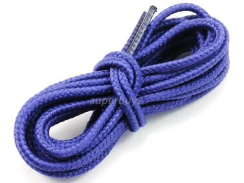 "Purple 120cm Long Hiking Trekking Shoe Work Boot Laces Trek Hike 48/"" To 4//6 Eyes"