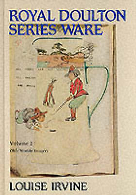 1 of 1 - Royal Doulton Series Ware Vol 2 Olde Worlde Imagery by Louise Irvine Antiques