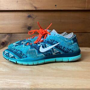 Nueva llegada La Internet único  Nike Free 5.0 Tr Fit 4 Feminino Tamanho 8 Azul Petróleo Tênis 629832-009 |  eBay