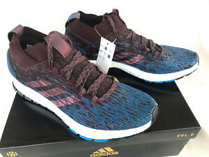 419f72e8138bf Adidas PureBOOST RBL CM8311 Night Red Trace Blue Marathon Running ...