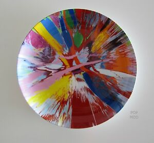 BEAUTIFUL-AMORE-SPIN-PLATE-DAMIEN-HIRST-BONE-CHINA-MINT
