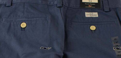 Vineyard Vines Boys /'Whale/' Embroidered Club Shorts Flag Blue $59.50