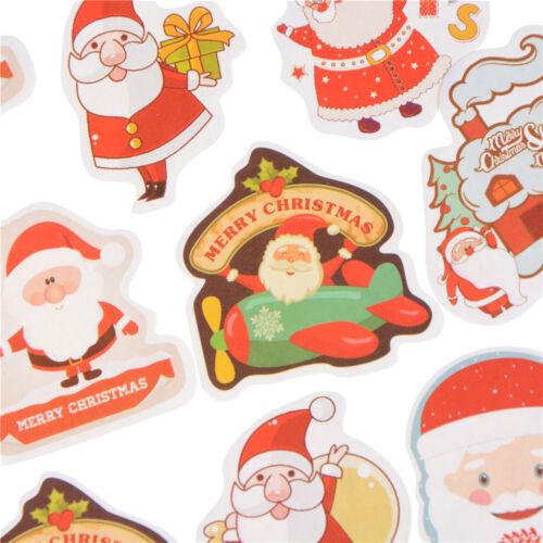48pcs Merry Christmas Cake Decorative Sticker Scrapbook Diy Diary StickersBRJB