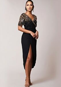 Virgos-Lounge-Black-Embellished-Dress-Midi-Wrap-Julisa-Cocktail-Party-6-to-20