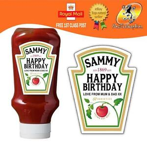 PERSONALISED-SPOOF-KETCHUP-BOTTLE-LABEL-BIRTHDAY-ANY-OCCASION-GIFT