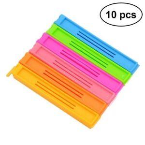 10-GASTRO-Frischhalteclips-Verschlussclips-Gefrierbeutel-Clips-Klammern-Klemmen