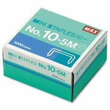 Max Hd 10df Mini Staple 100 Per Strip 019 Leg 031 Crown 5000box