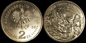 Pologne. 2 Zloty. 2005 (Pièce KM#Y.524 Neuf) Jasna Góra à Częstochowa