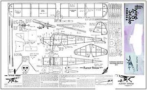 Bien Informé Auster Arrow Vol Libre En Caoutchouc Modèle Plan Et Pièces Patterns-afficher Le Titre D'origine