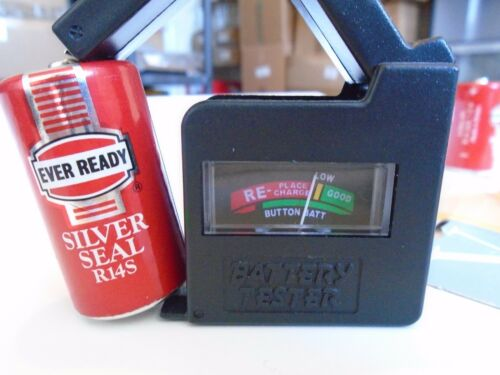 2X R14S Batteries Entièrement neuf sous emballage nos collection années 1990 New Ever Ready Visions Torch