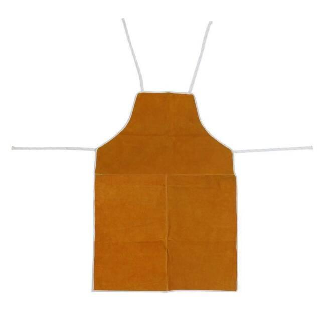 AU Cow-Leather Welder Aprons Welding Heat Insulation Protection Apron Blacksmith