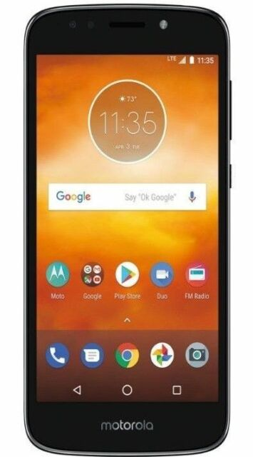 Motorola Moto E5 Play 16gb Black Unlocked Smartphone For Sale Online Ebay