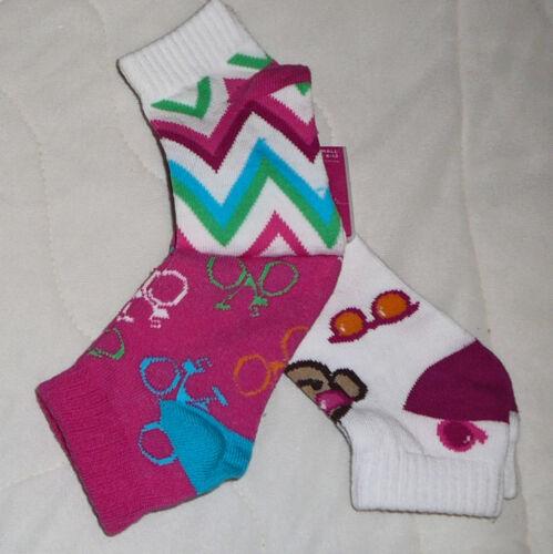 3 6 pk Sonoma Socks Low Cut 6-12 Small Girls Children Toddler Kids