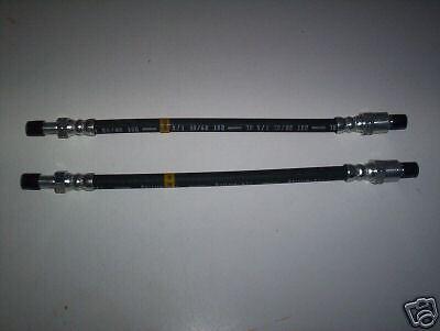 JAGUAR 420 REAR BRAKE HOSES PIPES 1966-68 x2