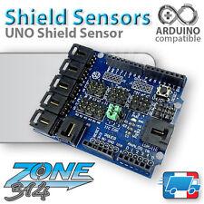 Carte d'extension capteurs pour Arduino Uno R3 (Shield Sensor Uno)
