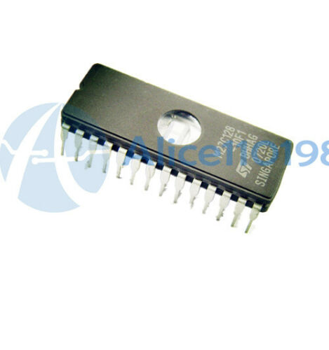 5PCS M27C128A-10F1 IC EPROM UV 128 kbit 100 NS 28 CDIP Neuf