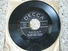 """Tommy Dorsey My Baby Just Cares For Me / Tea For Two Cha Cha 45 RPM 7"""" Record"""