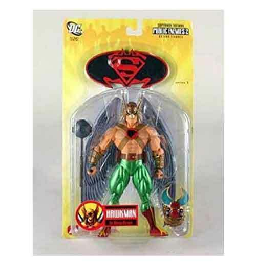 DC Comics SUPERMAN SUPERMAN SUPERMAN BATMAN series HAWKMAN 6  toy action figure boxed RARE cadfaf