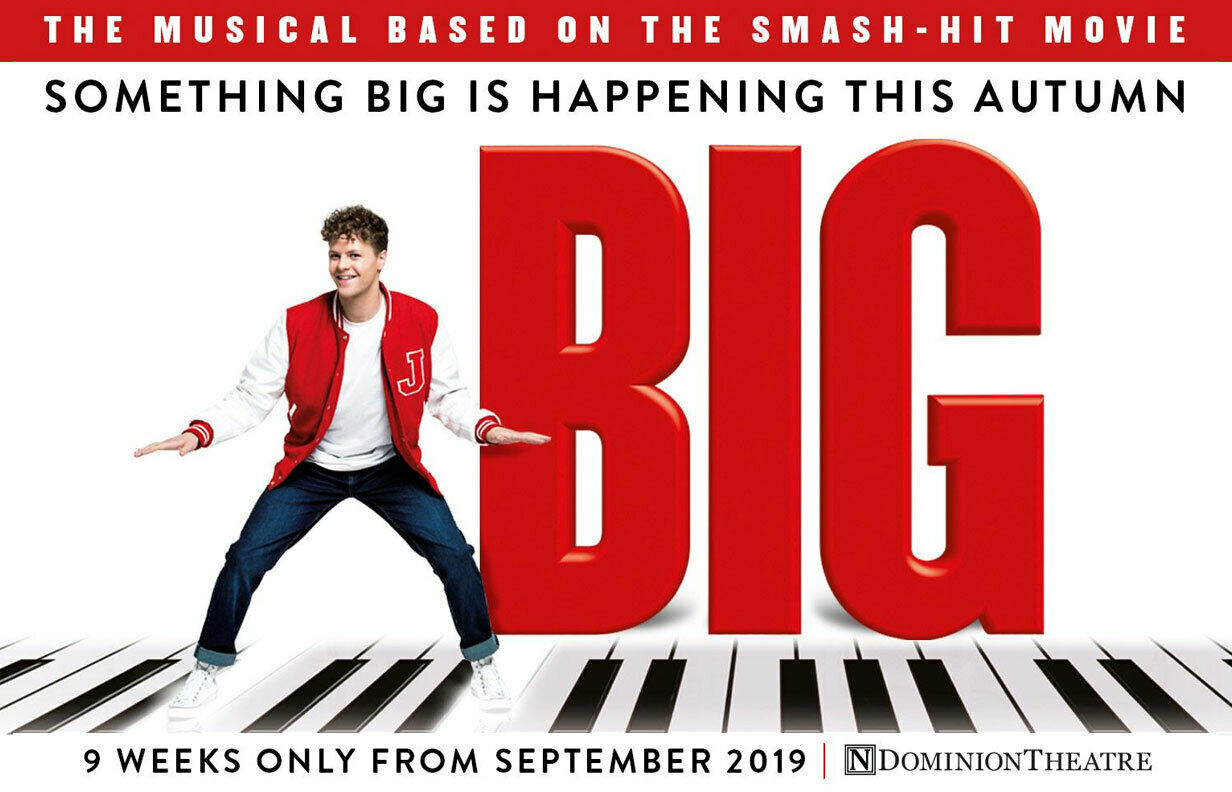 Image result for big the musical london