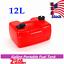 thumbnail 1 - Marine 3.2Gallon Plastic Outboard Gas Tank External Boat Fuel Tank 12L Portable