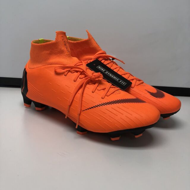 e061032cc18f Nike Mercurial Superfly VI 6 Pro Fg Men s Orange Black AH7368-810 SIZE 10.5