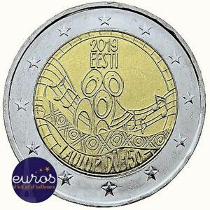 2-euros-commemorative-ESTONIE-2019-Festival-de-la-Chanson-Estonienne-UNC