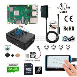 Octoprint-3D-Print-Display-Kit-Raspberry-Pi-3B-Starter-Kit-Power-Supply-Case