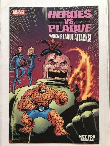 Marvel 2005 NM! HEROES VS PLAQUE HIGH GRADE RARE Spider-Man Giveaway Comic