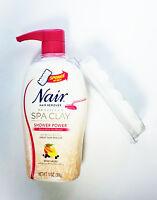 Nair Spa Clay Shower Power Cream 13oz