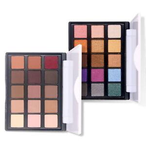 15x-Damen-Makeup-Lidschatten-Palette-Eyeshadow-Matt-Glitzer-Kosmetik-Pigment-FL