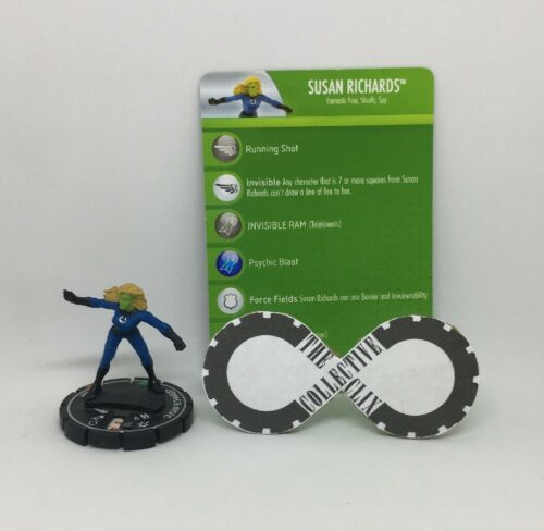 Heroclix Susan Richards 099 Secret Invasion Chase W Card