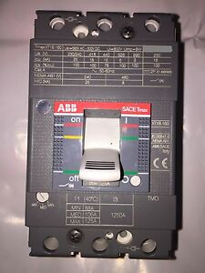 abb sace breaker switch tmax xt1b 160 amperage rating 125. Black Bedroom Furniture Sets. Home Design Ideas