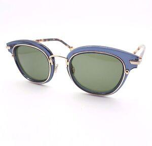 6712962de4 Christian Dior Origins 2 PJPQT Blue Gold Green New Sunglasses ...