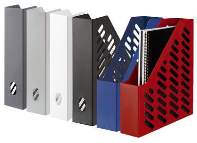 4 X HAN Klassik Stehsammler Stehordner Zeitschriftensammler Ablagesysteme Ablage
