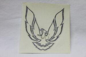 82-92 Firebird//Trans Am Sail Panel Phoenix Bird Decal Charcoal