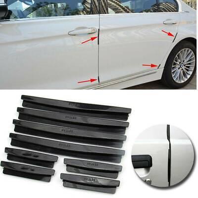 4x Car Door Edge Guards Trim Molding Protect Strip Scratch Protector Anti-rub