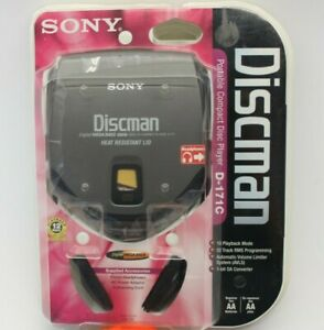 Sony Discman D-171C Personal Portable CD Player NEW SEALED UNOPENED VINTAGE