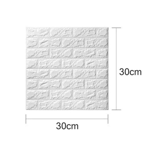 PE Foam 3D Self Adhesive DIY Panels Wall Stickers Home Decoration Accessory Hot