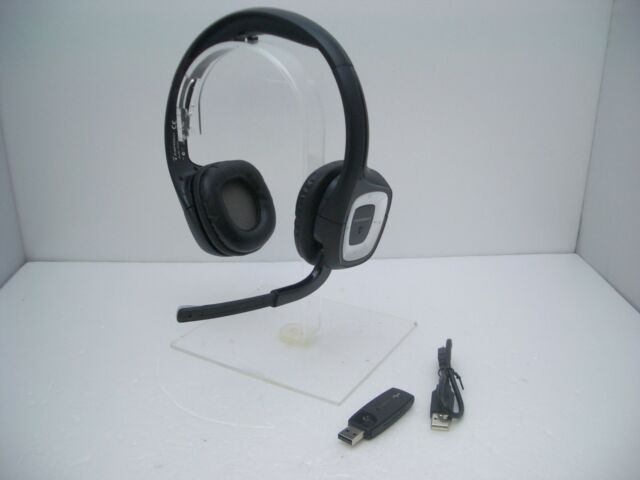 Plantronics Audio 995 Wireless Headband Computer Headset with USB-02 Dongle