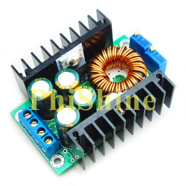 300W 12A 24V to 5V 12V Adjustable Step Down Power Module w/ Constant Current