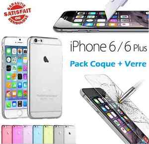 coque verre trempé iphone 6