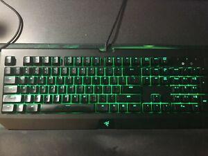 94be0a4209f Image is loading Razer-BlackWidow-Ultimate-2018-Mechanical-Keyboard -Green-Switch-