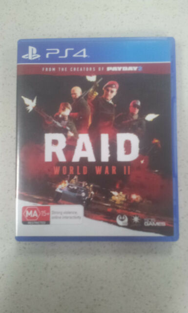 RAID World War II 2 PS4 Game (NEW)