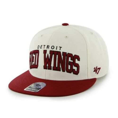 RR BNWT 47 marca 47/' oficial NHL Detroit Red Wings gorra talla única para Hombre