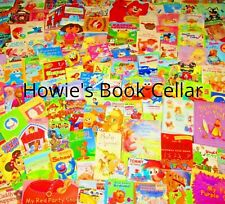Kids Childrens Board Books TODDLER/PRE SCHOOL/READ/TEACHER/HOME SCHOOL/DAY CARE