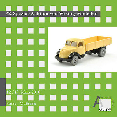 Wiking-Auktion Auktionskatalog 42